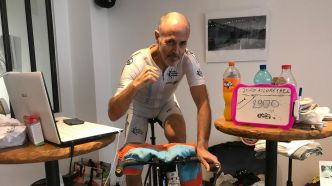 2923 km : Le record du monde de distance sur home trainer battu en direct