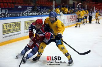 Hockey : Un point sur les U20 isérois, vers un derby en playoffs ?