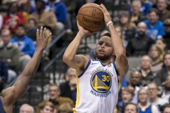 Basket - NBA - Stephen Curry inscrit le panier de la gagne pour Golden State à Dallas