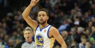 Stephen Curry se blesse à l'entraînement