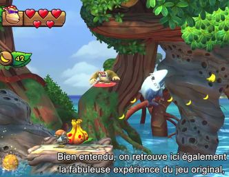 Le jeu Donkey Kong Country: Tropical Freeze, en Trailer FR + date de sortie
