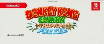 "Donkey Kong Country Trropical Freeze revient sur Nintendo switch avec un invité ""Funky"""