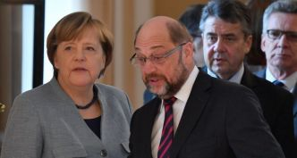 Gouvernement allemand : Merkel arrache un accord de principe