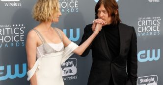 "Diane Kruger et Norman Reedus de ""Walking Dead"" officialisent leur couple sur les tapis rouges"