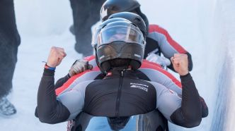 Bobsleigh : Chris Spring s'offre le bronze