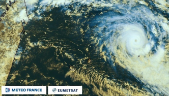 Point de 23h : Berguitta se rapproche, le cyclone tropical intense à 780 km de La Réunion