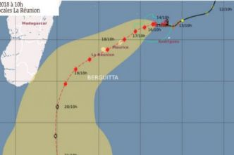 Berguitta redevient cyclone tropical