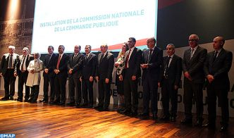 Installation à Rabat de la Commission nationale de la commande publique
