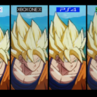 Dragon Ball FighterZ – Comparatif Xbox Vs. Playstation: La One X domine! (Vidéo)