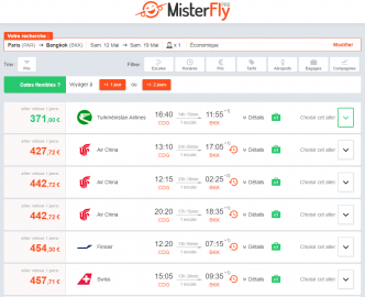 MisterFly s'ouvre aux vols charters