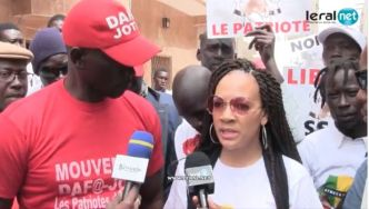 """Malika : « The senegalsese governement has'nt told me yet why my husband Assane Diouf goes to jail"""""""