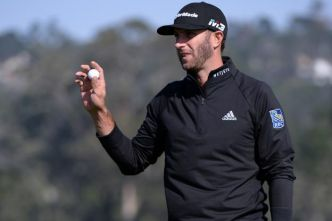 Golf - PGA - AT&T Pebble Beach Pro-Am 2018 : Dustin Johnson et Ted Potter en tête