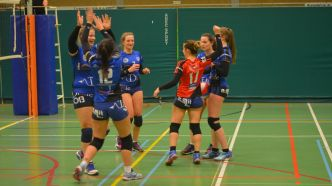 Volley: Basècles grimpe sur le podium