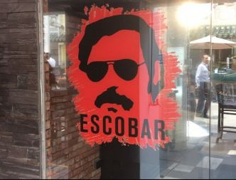 Pablo Escobar in Singapore, a little hard to swallow there!