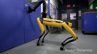 Attention, le chien robot de Boston Dynamics ouvre maintenant des portes !