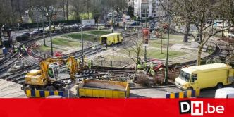 Uccle : Pagaille au rond-point Churchill