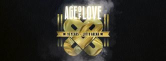 2 x 2 places à gagner - 10 years Age of Love @ Anvers le 23/02/2018
