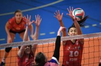 Volley - Ligue A : Chamalières s'incline en trois sets