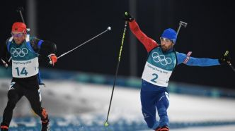REPLAY. JO d'hiver 2018 : le finish incroyable de Martin Fourcade sur la mass start de biathlon