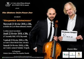 "Concert: ""The Modern Cello-Duo"""