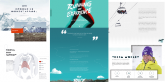 Inspiration : 10 sites one-page tendances