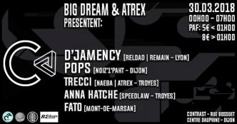 21 - Friday's Sessions invite D'Jamency @ Contrast club le 30/03/2018
