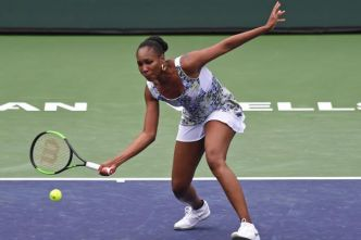 Tennis - WTA - Indian Wells - Tournoi WTA d'Indian Wells : Venus Williams en quarts de finale