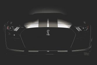 Ford Mustang : les versions Shelby GT500 et hybride en approche