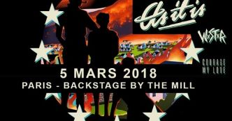 Live Report : As It Is + WSTR + Courage My Love + Grayscale @ Backstage By The Mill, Paris - 05/03/2018