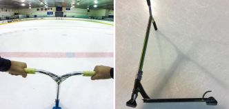 IceScoot : la trottinette freestyle pour les patinoires