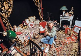 Photographs of Serge Gainsbourg and his Parisian apartment, by Tony Frank