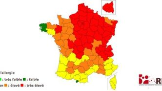 Allergies : la France dans le rouge !
