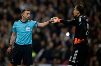 L'arbitre de Real-Juventus sous protection
