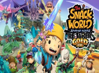 The Snack World: Trejarers Gold, + d'images…