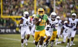 Fiches NFL Draft 2018 : Royce Freeman – Running back