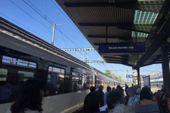 Un train bloqué en gare de Morges provoque des retards