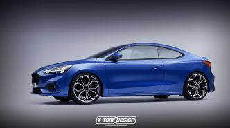 Un designer imagine la nouvelle Ford Focus Coupé