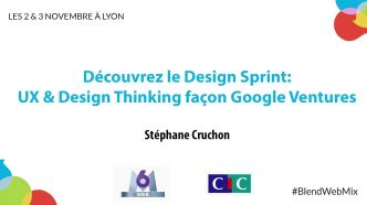 UX & Design Thinking façon Google Ventures