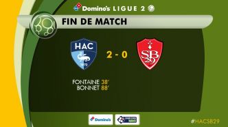 Ligue 2 : Le Havre poursuit sa route en play-offs