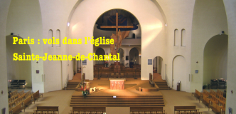Vols dans l'église Sainte-Jeanne-de-Chantal à Paris