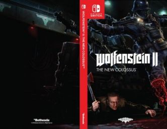 Wolfenstein II: The New Colossus - Bethesda dévoile 3 jaquettes alternatives pour la version Switch