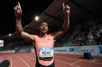 Athlé - Meeting de Marseille - Meeting de Marseille : Jimmy Vicaut a volé et signé un joli chrono sur le 100m