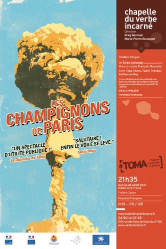 Spectacle Les Champignons de Paris