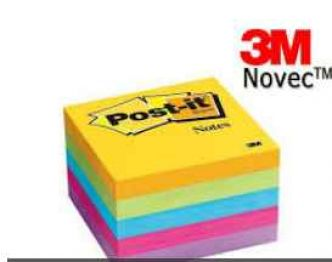 Gratuit : un bloc de Post It Novec