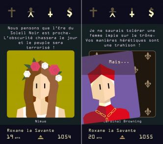 Contenu additionnel à venir et gratuit pour l'excellent jeu « Reigns : Her Majesty »