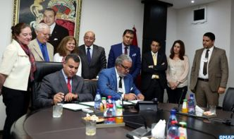 Signature à Rabat d'un mémorandum d'entente entre la MAP et le Holding Marita Group relatif au développement du projet d'International Media City