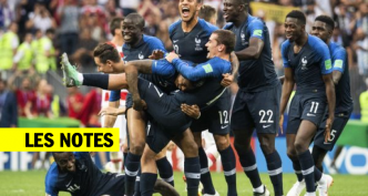 Les notes de la France contre la Croatie