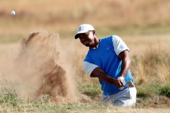 Golf - British Open - Tiger Woods réussit son retour à l'Open !