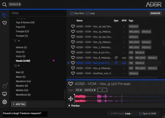 Friday's Freeware : ADSR Sample Manager