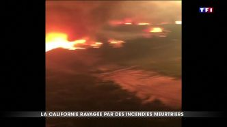 La Californie ravagée par des incendies meurtriers
